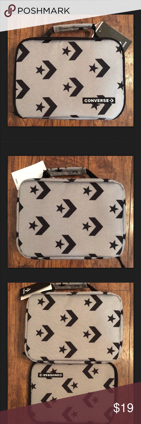 CONVERSE Soft Lunch Kit Insulated Lunch Bag Converse Awesome Soft Lunch Kit  Back Insulated Cool Lunch Box Bag New With Tags Converse Other 31636368b4299