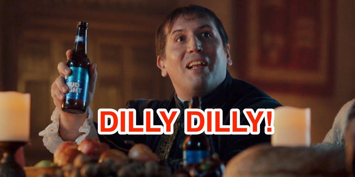 Bud Light S Dilly Dilly Just Made A Comeback At The Super Bowl With A Weird Crossover Ad With Game Of Thrones Here S What The Phrase Means