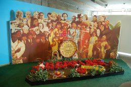 Inside the Beatlemania museum, Hamburg, Germany