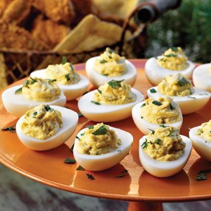 Spicy southwestern deviled eggs recipe devil egg and cilantro spicy southwestern deviled eggs forumfinder Gallery