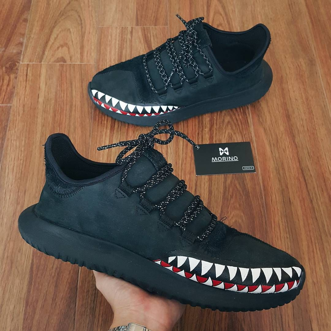 Shark Tooth Custom adidas Tubular Shadow