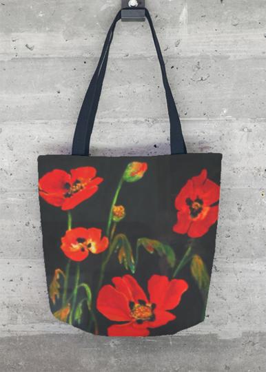 VIDA Foldaway Tote - poppies by VIDA s6ywJMC