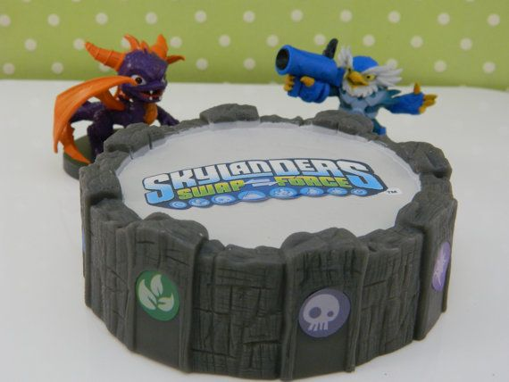 Skylanders Swap Force Cake Kit Cake Topper Cake Decoration on