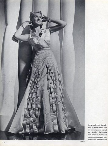 Chanel 1938 Evening Gown, Mauboussin | Hprints.com