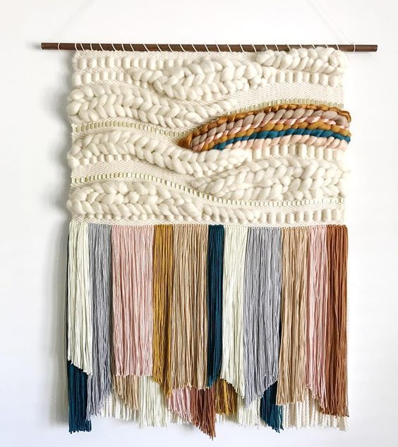 DIY Woven Tapestry Tutorials - Hey Lai