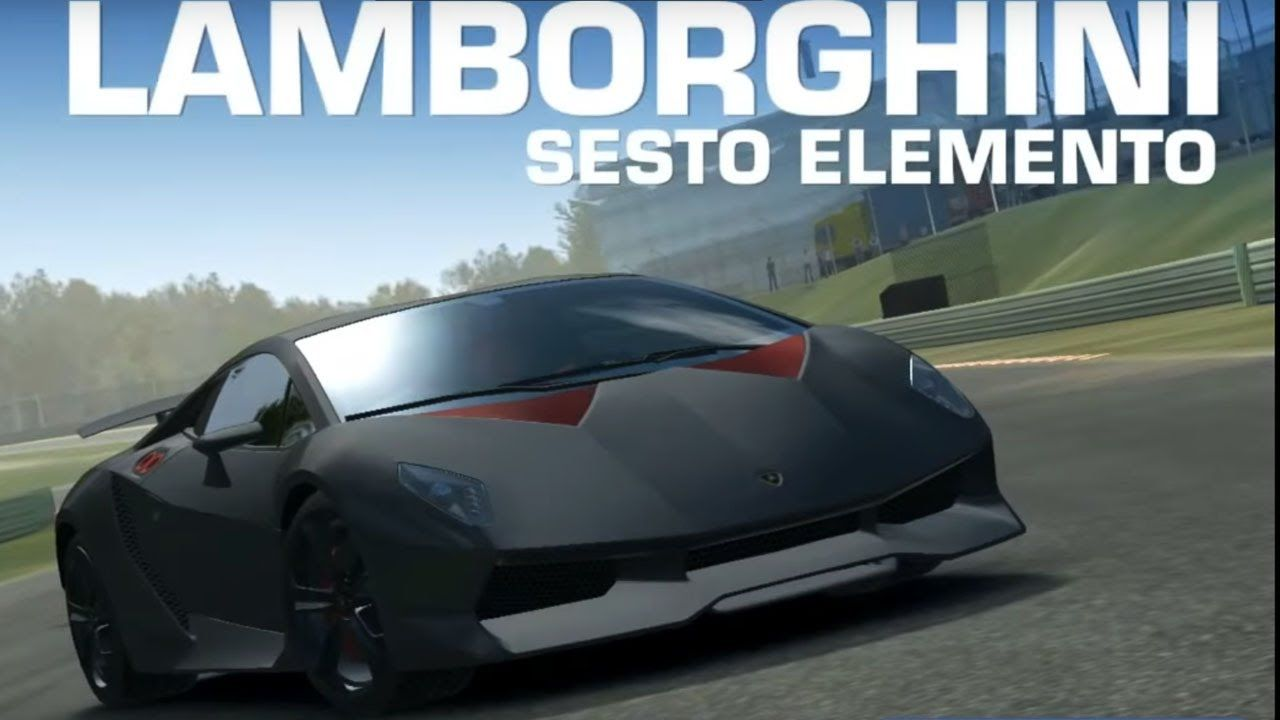 real racing 3 lamborghini sesto elemento - #rr3 gameplay | video