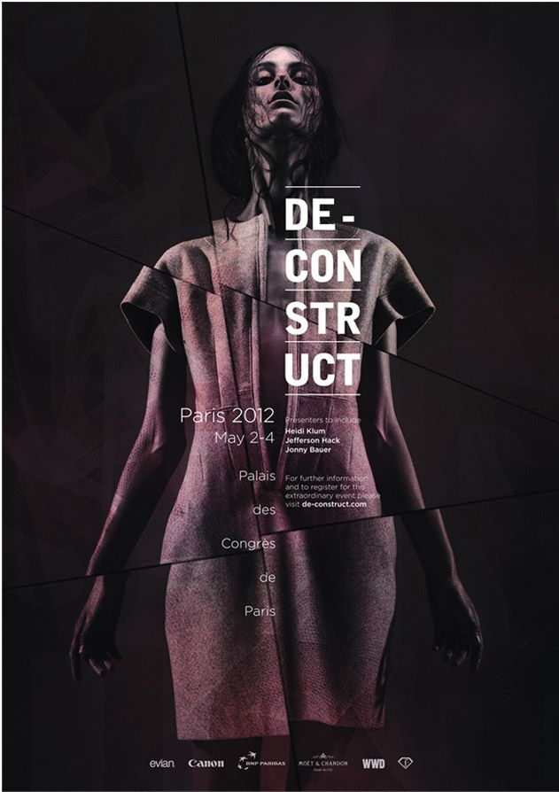 de_construct_posterjpg (631×894) Fashion Graphic Design - fashion poster design