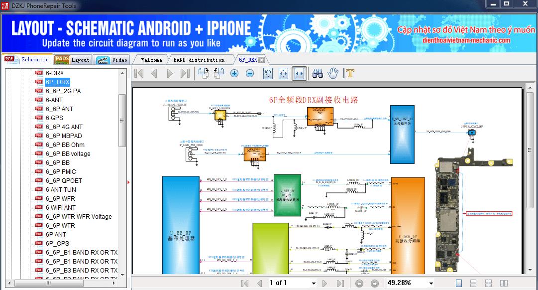 Schematic Diagram Dzkj Phone Repair Free Tool Latest Fhones In 2020 Phone Repair Diagram Free Tools