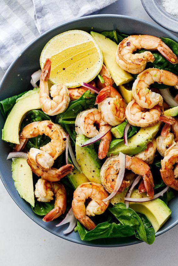 Easy Lemon Shrimp Salad - Simply Delicious