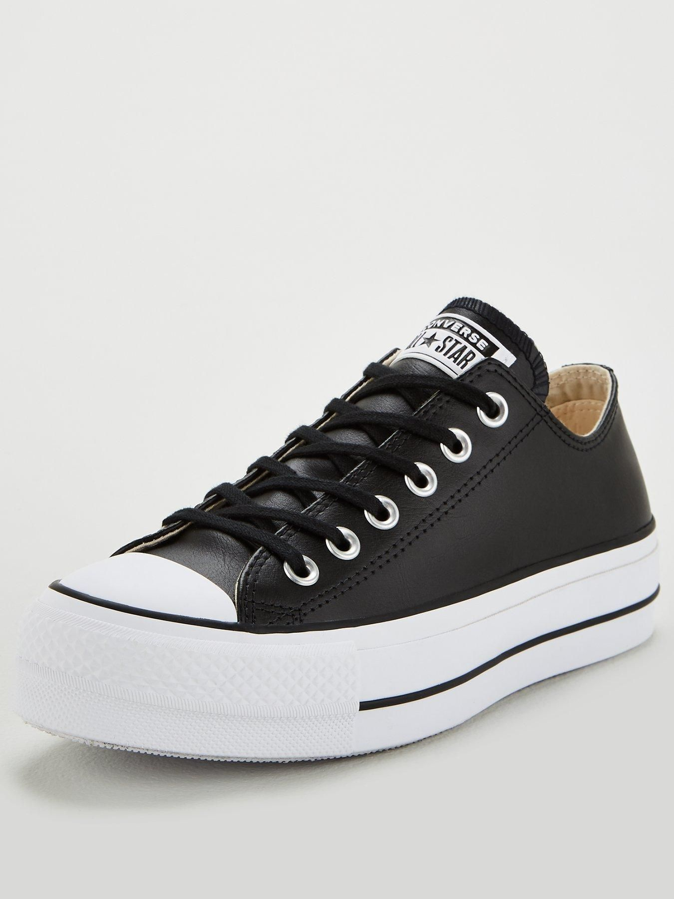 Converse Chuck Taylor All Star Platform Lift Clean Leather ...