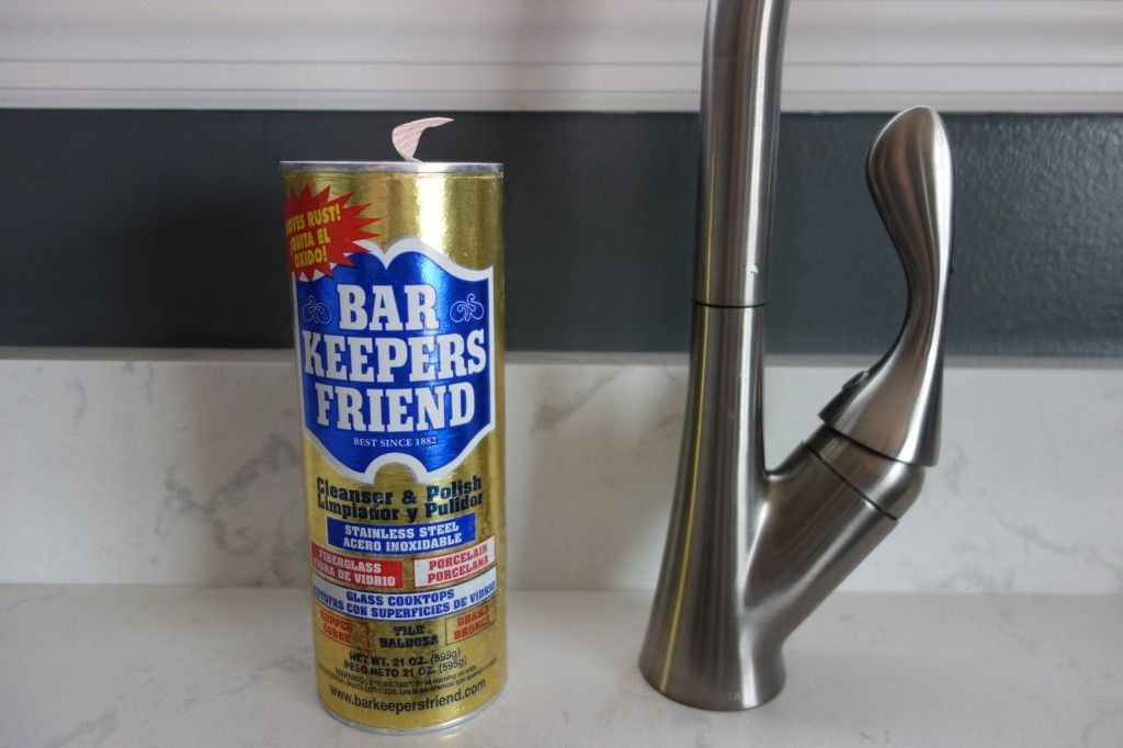 Bar Keepers Friend Clean Rust Stains Hard Water Stain Remover