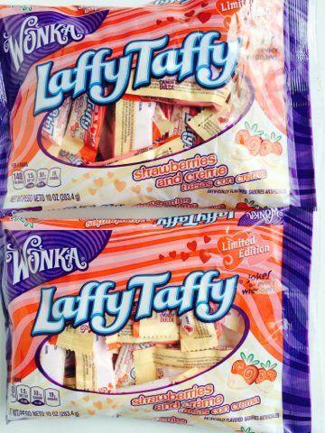 Valentine Laffy Taffy - Strawberries and Creme - 2 Pack - Limited Edition Wonka http://www.amazon.com/dp/B00SHY7JVO/ref=cm_sw_r_pi_dp_czVXub1DJ4XSW