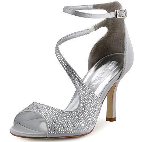 608618210c88 ROF Cynthia-01 Women s Pumps ( Silver Glitter Size 11 )