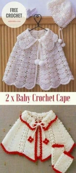 18 ideas crochet poncho kids pattern free knitting #crochetponchokids