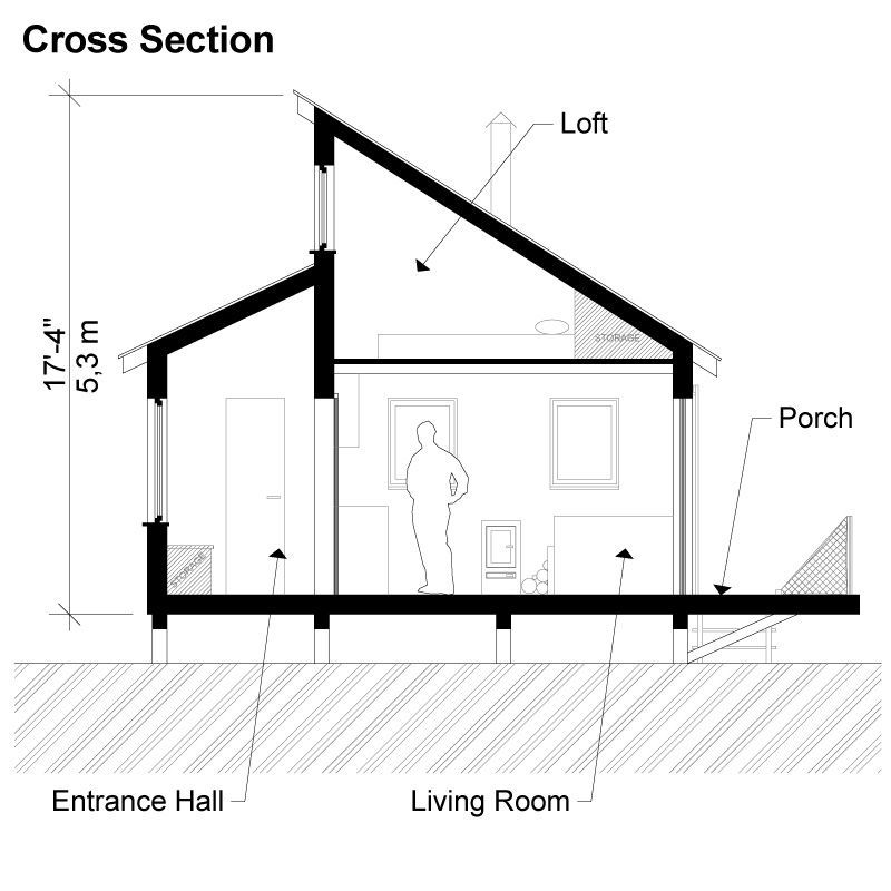 10x10 Clerestory Shed Plans Blueprints 04 Right Elevations Shed Plans Diy Storage Shed Building A Shed