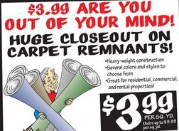 Huge Closeout On Carpet Remnants From Ollie S Bargain Outlet 3 99 Carpet Remnants Floor Cleaner Remnants