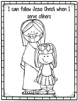 36+ I chose to follow jesus christ coloring page HD