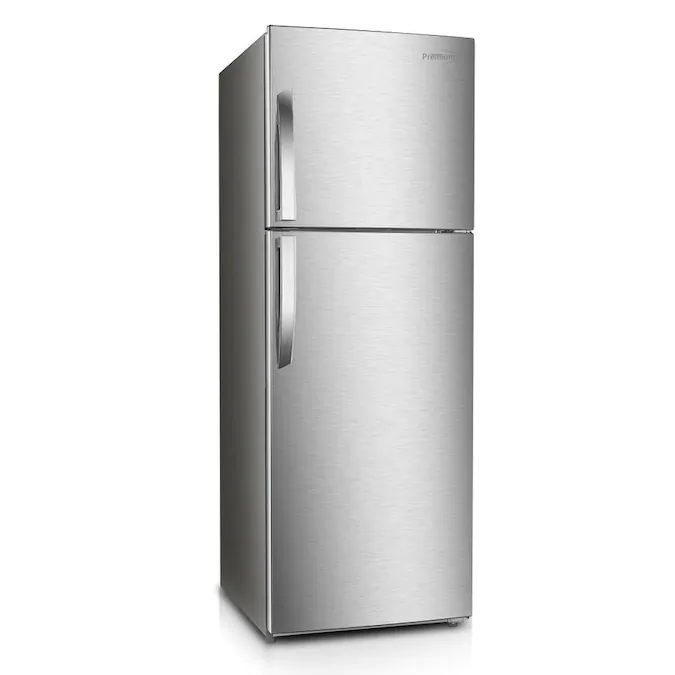 Premium Levella 10 Cu Ft Counter Depth Top Freezer Refrigerator Stainless Steel Energy Star Lowes Com In 2020 Stainless Steel Refrigerator Top Freezer Refrigerator Refrigerator