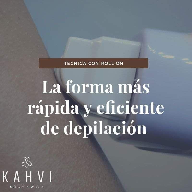 Depilacion Con Roll On Curso De Depilacion Depilacion Depilación Cera