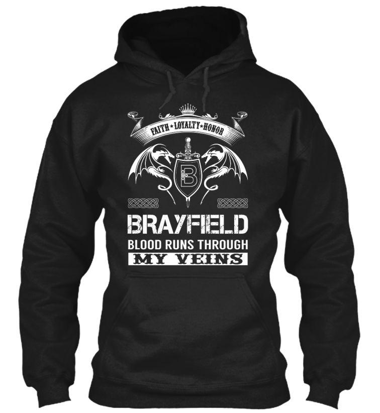 BRAYFIELD - Blood Runs Through My Veins