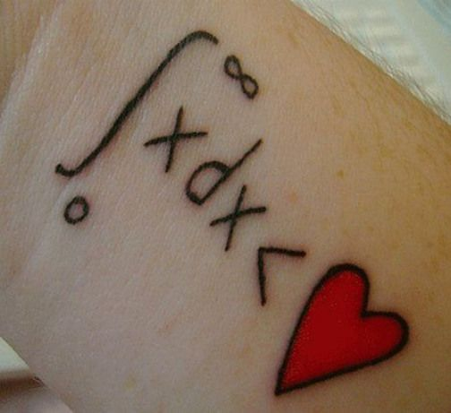 A different kind of infinity #physicalscience #physical #science #tattoo
