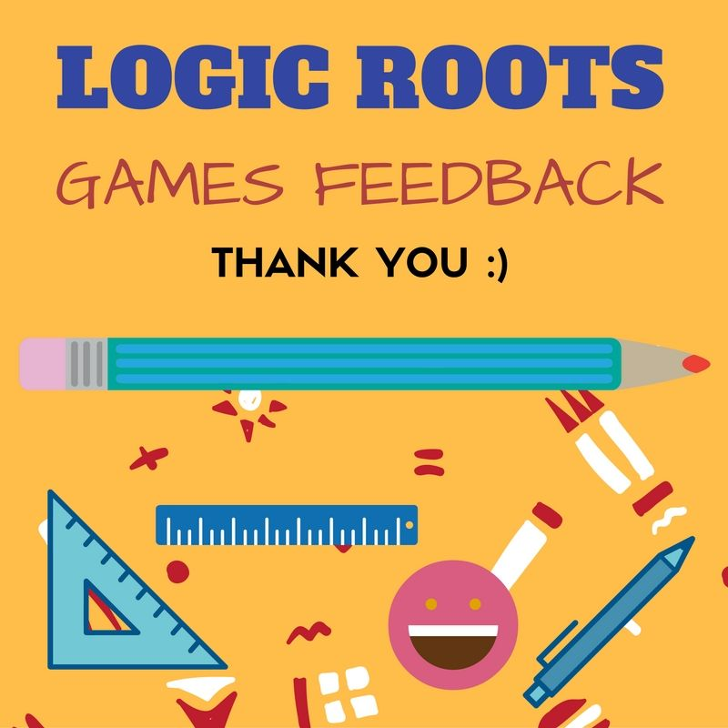 Pin by Math Games - Logic Roots on Logic Roots Math Games Feedback ...