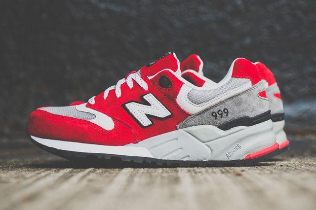 NEW BALANCE 999 ELITE (RICH RED) | Sneaker Freaker | Red sneakers ...
