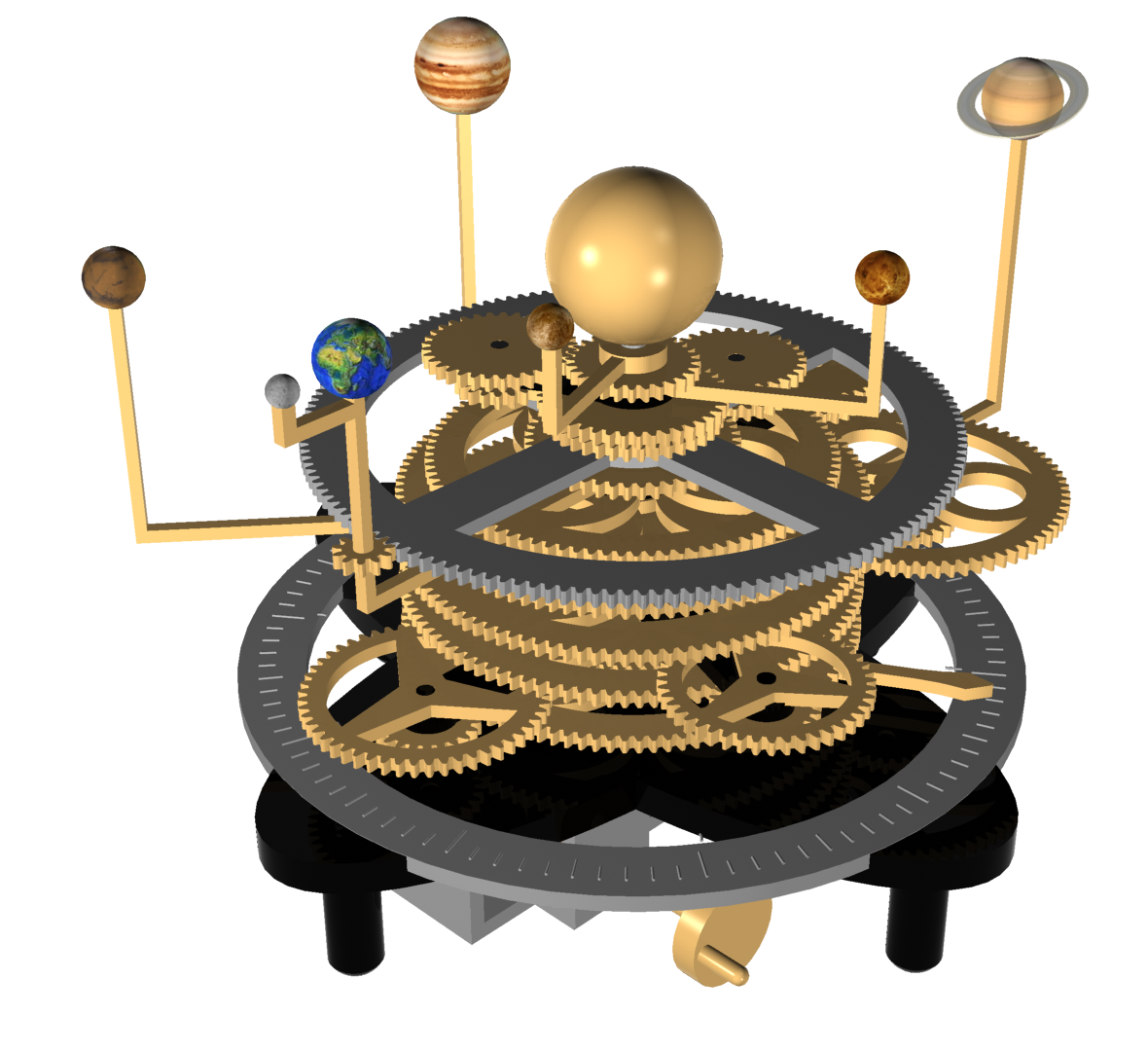Orrery Concept Model | Globes, Orreries, Etc. in 2019 ...