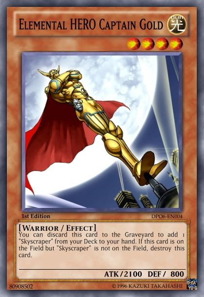 Yugioh Card Maker With Images Hero Yugioh Yugioh Cards