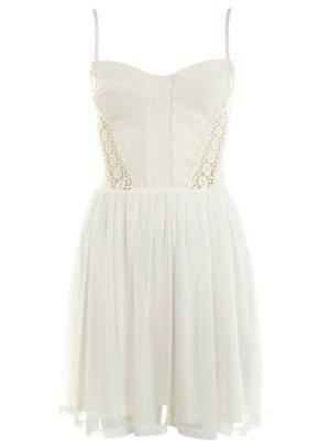 lace insert corset dress  prom dresses  dress shop