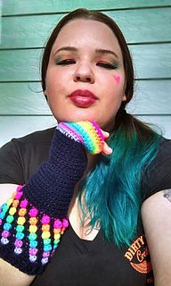 This pattern is from a series collaboration with Crochetverse, and Clarissa Paige Dove Designs. The patterns need to be purchased separately, this purchase only includes the fingerless gloves pictured.