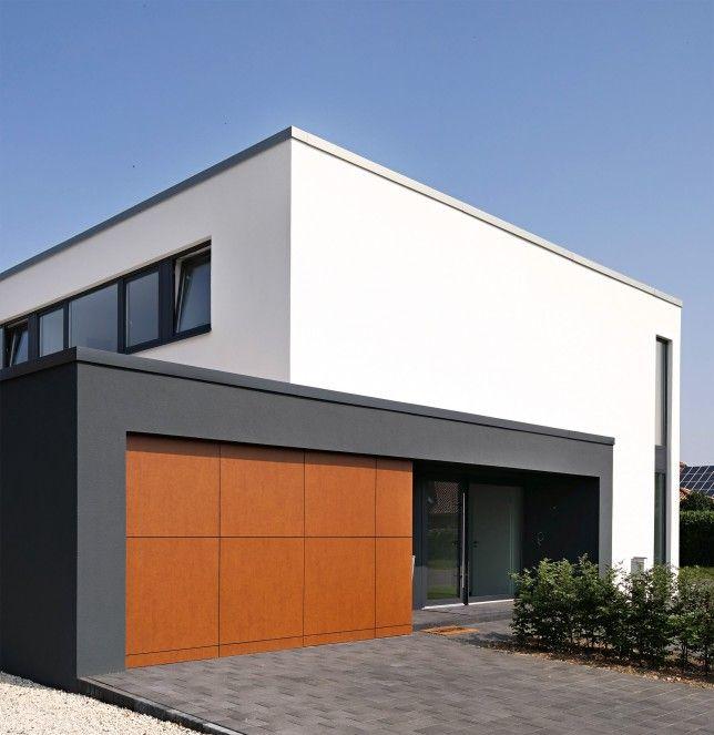 Neubau Einfamilienhaus Flachdach: K3-Planungsstudio: Einfamilienhaus Cäcilien