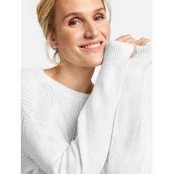 Photo of Pullover mit Strickmischung White Gerry WeberGerry Weber