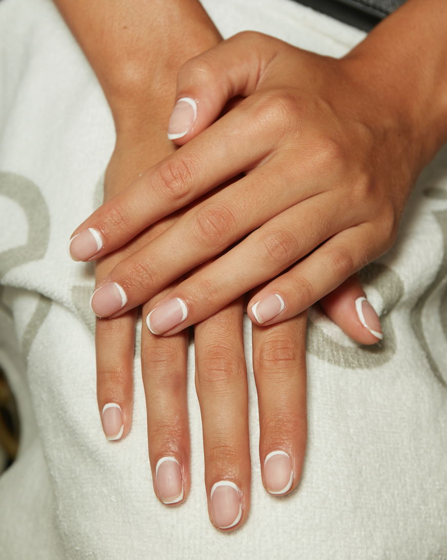 Like It Or Not The French Manicure Is Back For Spring 2020 Best Nail Art Designs Cool Nail Art French Manicure