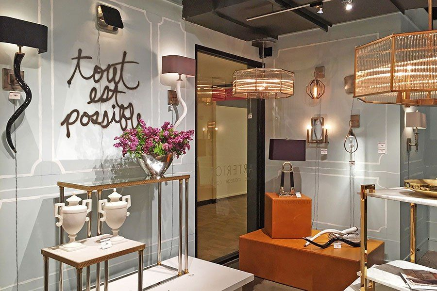 The Best Showrooms And Booths At The High Point Furniture Market High Point Furniture High Point Furniture Market Showroom Interior Design