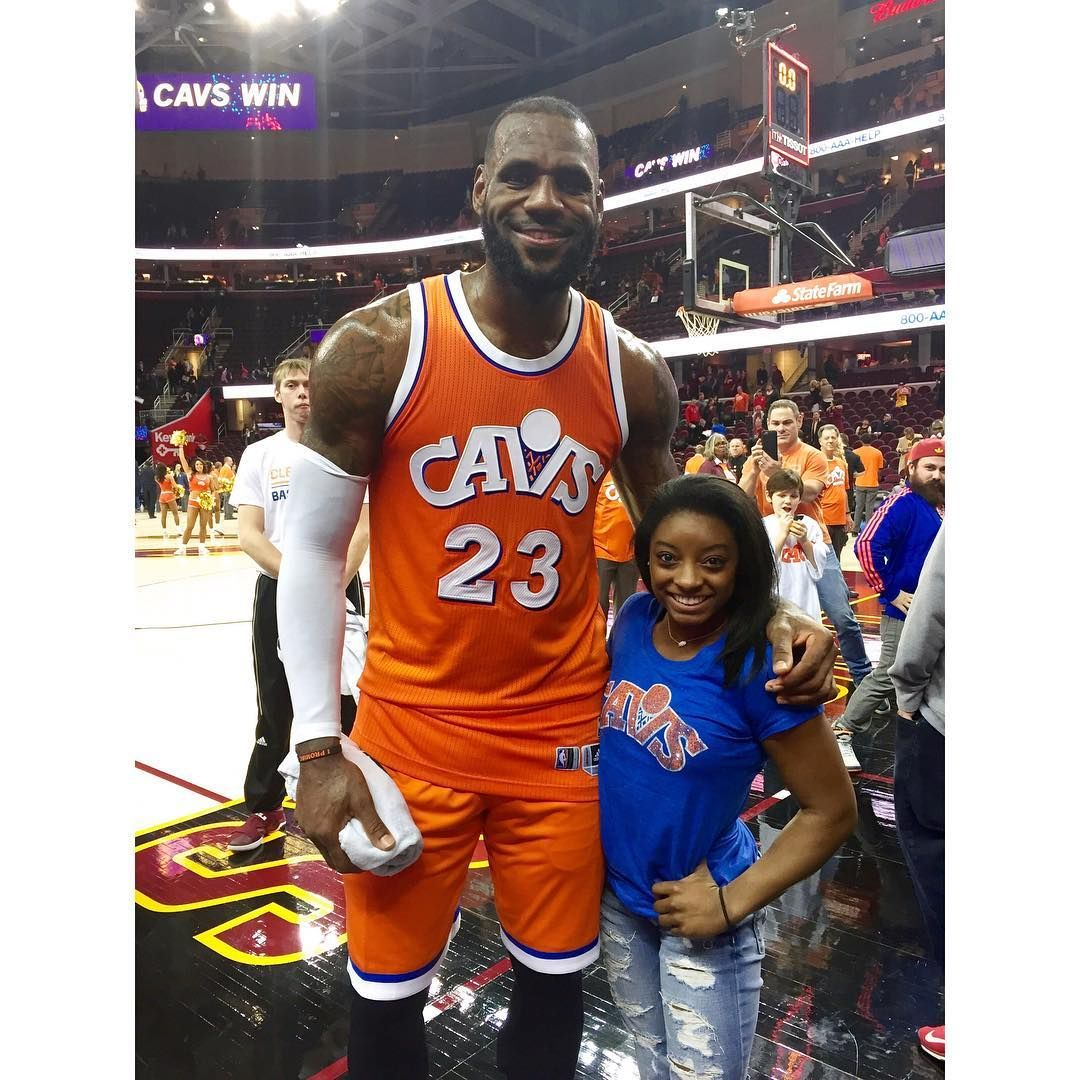 "Simone Biles on Instagram: ""lebron james"" | Gymnastics ..."