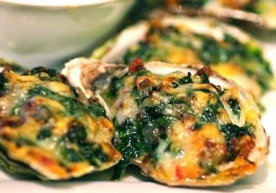 Grilled Oysters Rockefeller | Plate 'N' Playlist | Oysters