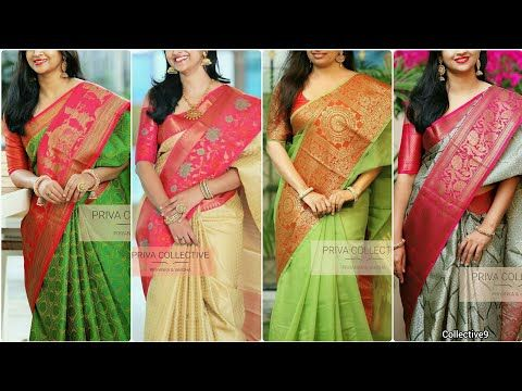 b1f0ef01bd3f75 Latest Designer Sarees from priva collective || Blouse Designs || Blouse  Patterns - YouTube