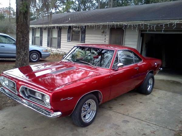 used classic car for sale in jacksonville florida 1967 plymouth barracuda classics. Black Bedroom Furniture Sets. Home Design Ideas