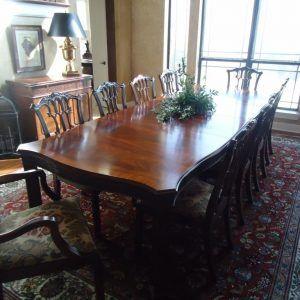 Room Henkel Harris Mahogany Dining Table