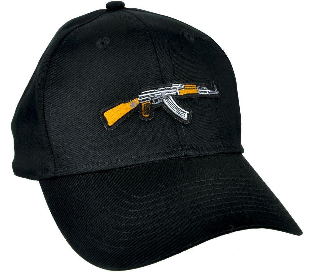 09087f2b801 Call of Duty AK-47 Assault Rifle Hat Baseball Cap Alternative Clothing  Black Ops Gun