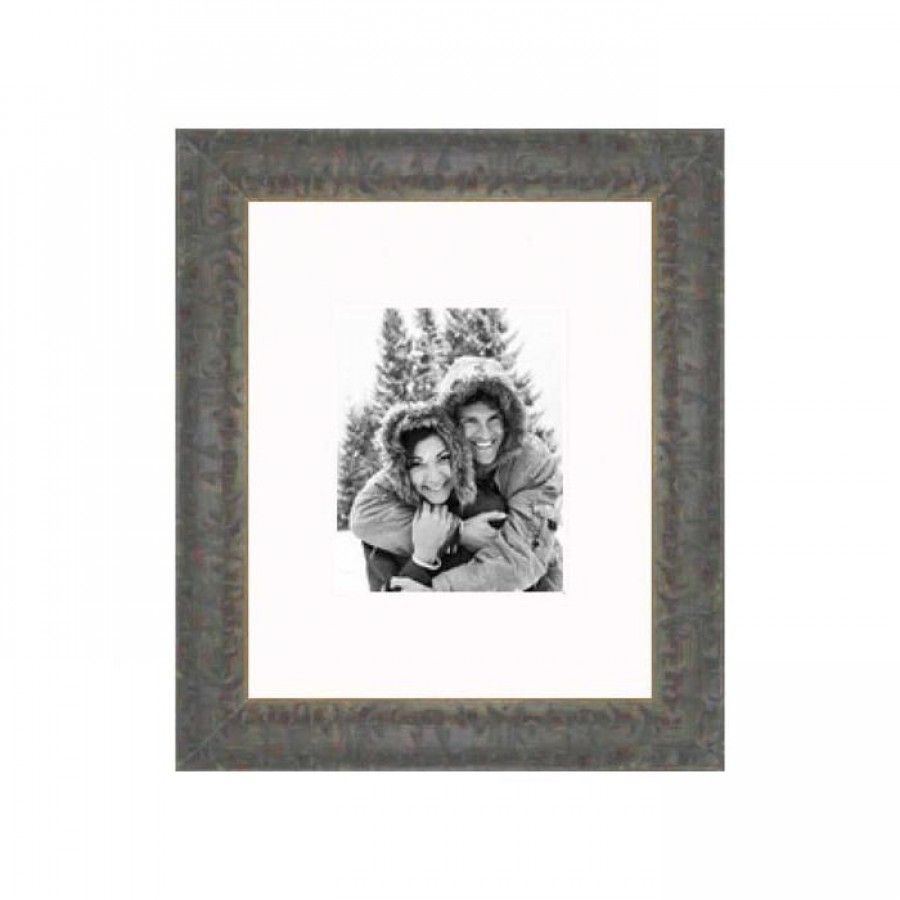 Frames By Mail 20 X 24 Frame In Distressed Green Aam2003 Rm 2024 Yellow Picture Frames Picture On Wood Wood Picture Frames