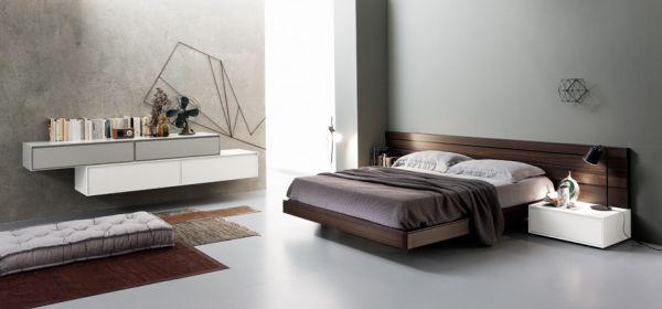 1000 images about schlafzimmer ideen betten kleiderschrnke - Schlafzimmer Modern Braun