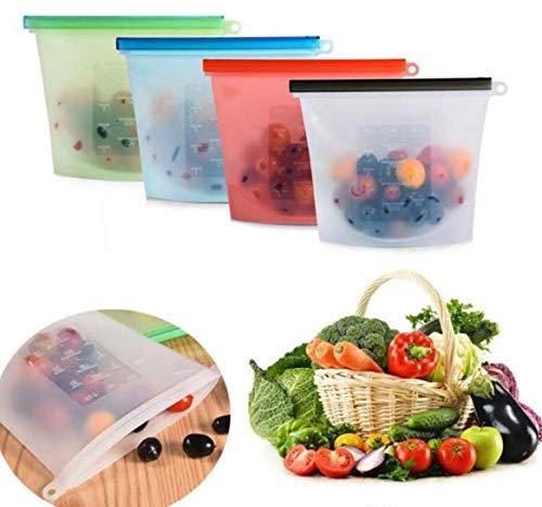 Reusable Silicone Food Storage Bag Food Preservation Bag