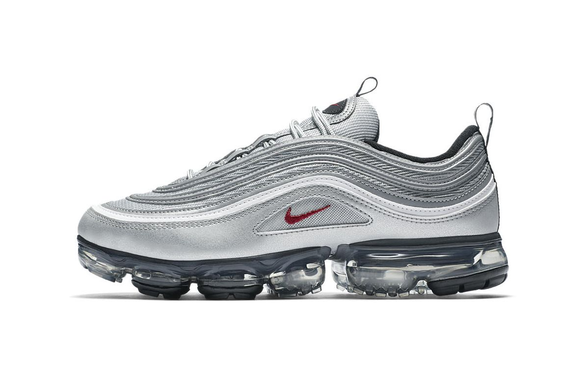 """huge selection of 5dd43 ccfe0 An Official Look at the Nike Air VaporMax 97 """"Silver Bullet"""""""