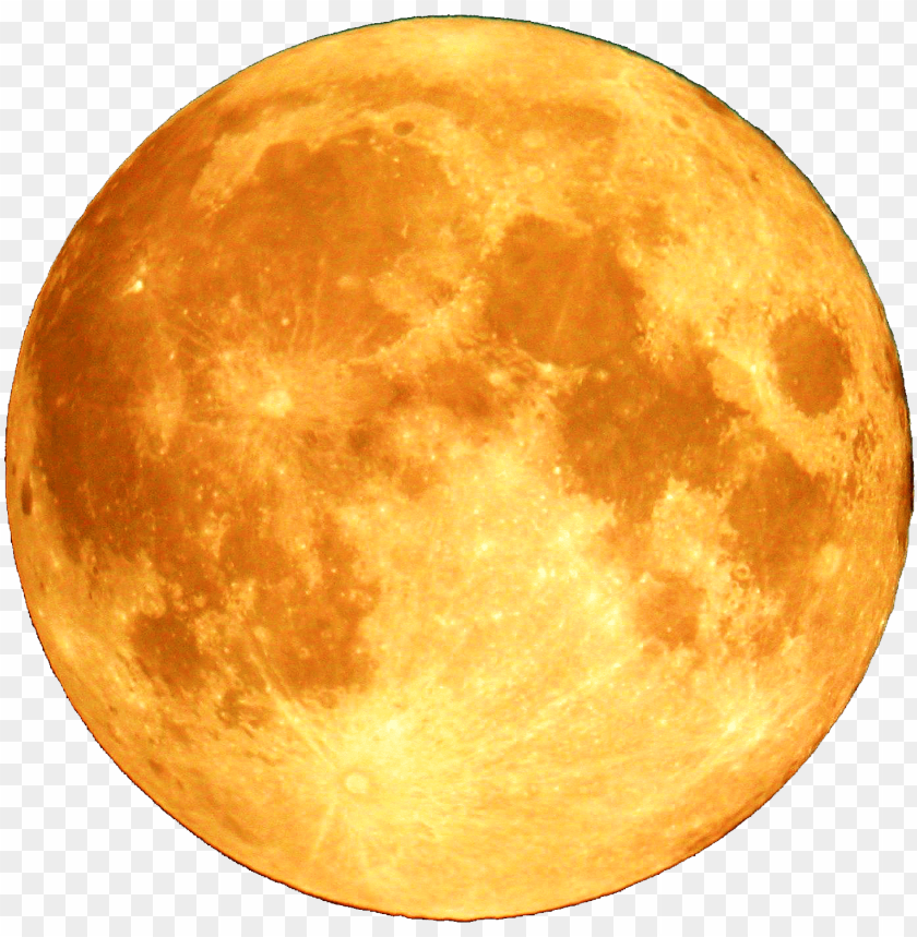 Full Moon Png Image With Transparent Background Png Free Png Images In 2020 Yellow Moon Full Moon Png