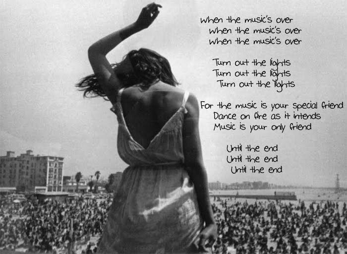 The Doors The End Doors Music American Poets Riders On The Storm