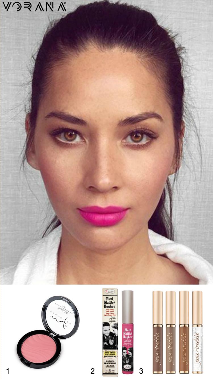 1. Marifer Cosméticos – Rubor 2. The Balm – Meet Matte Hughes: Chivalrous 3. Jane Iredale – PureBrow® Brow Gel #Primavera #Makeup #Spring