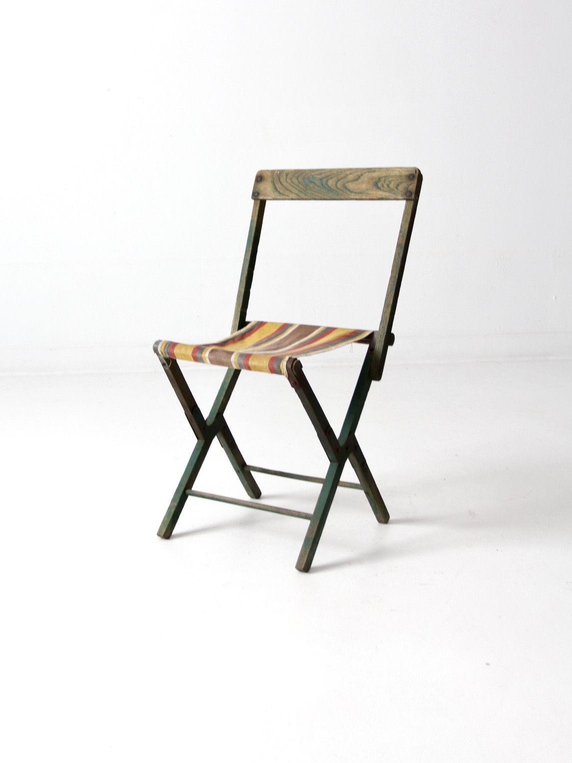 Vintage Folding Camp Chair
