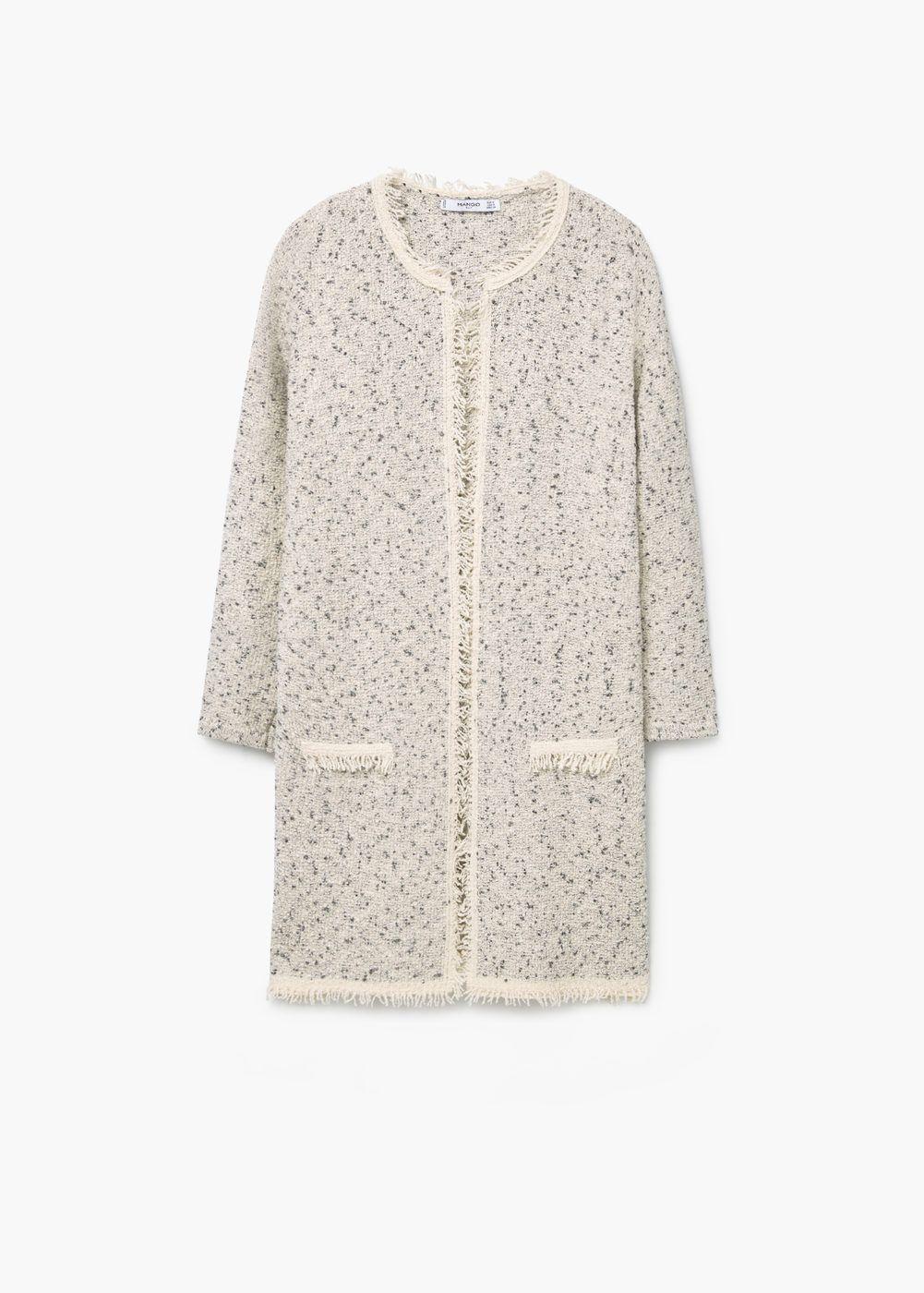 baratas para descuento 7a222 902e1 Cárdigan jaspeado algodón - Mujer | A - Jackets | Abrigos y ...